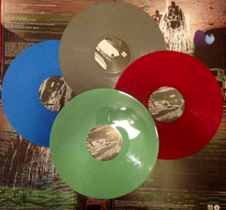 Go Big Shadow City green vinyl