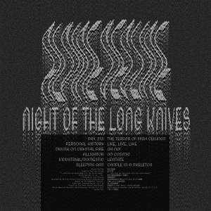 Night of the Long Knives album back cover